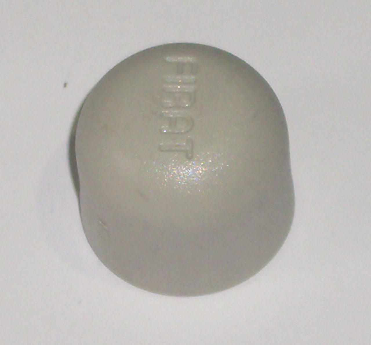 Заглушка, колпак, полипропиленовая, серая, FIRAT(Турция), арт. 7731000020  20мм.