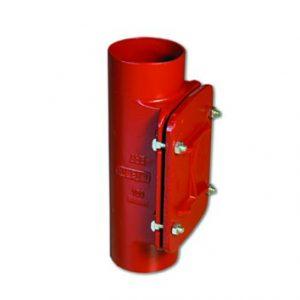 Ревизия SML с прямоугольным отверстием, чугунная, АНВ, арт.0121125  125 мм