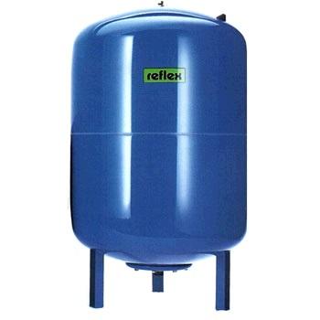 Бак расширительный, REFLEX DE 18, гидроаккумулятор, мембранный, синий  18 литров