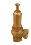 RASTELLI серия 560 клапан предохранительный, пружинный угловой внутренняя резьба
