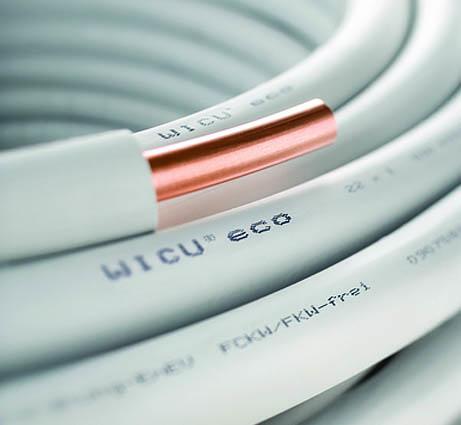 Труба медная, мягкая, в изоляции, WICU Eco HME 12х1.0