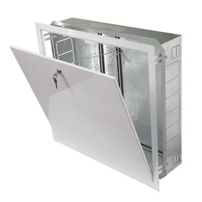 Шкаф сантехнический Grota  ШРМ-0, мини, на 1-3 выхода  550 х 120 х 402 мм