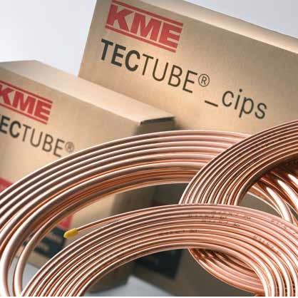 Труба медная мягкая кондиционерная HМЕ TEC TUBE cips 15 x 1,0 x 25 м
