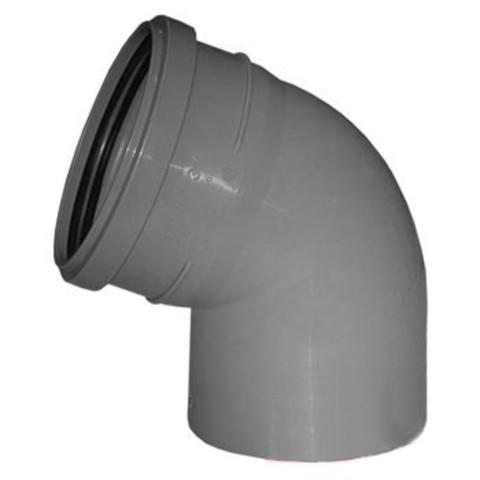 Отвод 45°, HTB, для внутренней канализации Ostendorf  110мм