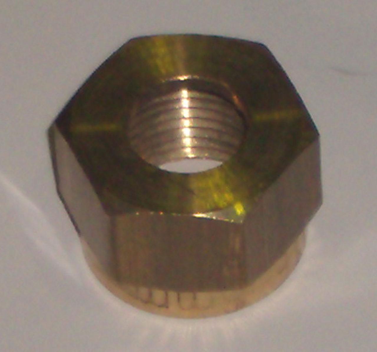 Гайка ВР, компрессионная, латунь, IMI, арт.678А   8