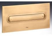 "Кнопка смыва Visign for Style 11 Viega 597184, пластиковая, цвет""золото""  271х140"