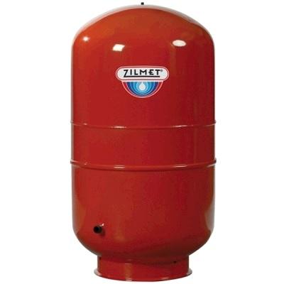 Гидроаккумулятор Zilmet CAL PRO, вертикальный, красный, арт.1300025000  250 литров