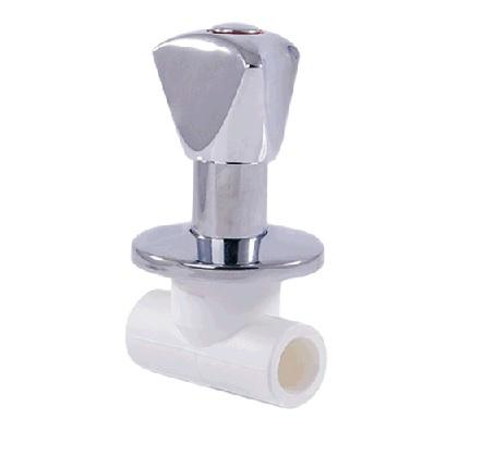 Вентиль хромированный LUX 20 вн/вн, РТП