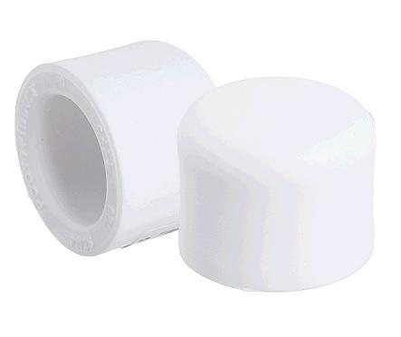 Заглушка 40 PN 25, белый РТП