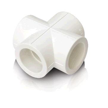 Крестовина 32 PN 25, белый РТП