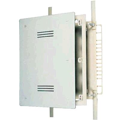 Шкаф для коллектора, встраиваемый, регулируемый по ширине, пластик, RBM, арт.86.58.00  310х580