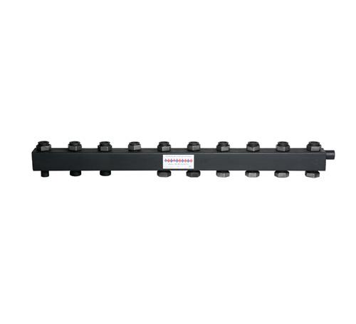 Коллектор для котельной обвязки, распределительный   КК-40F/125/40/ 5+3 контуров