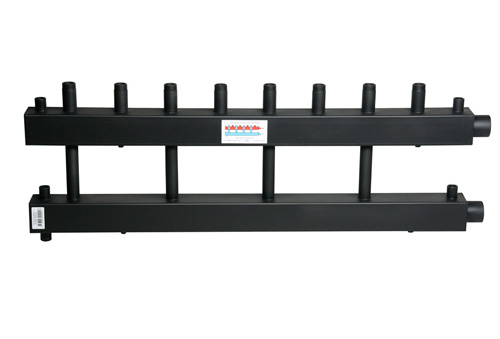 Коллектор для котельной обвязки, распределительный   КК-25М/125/40/4/D контура