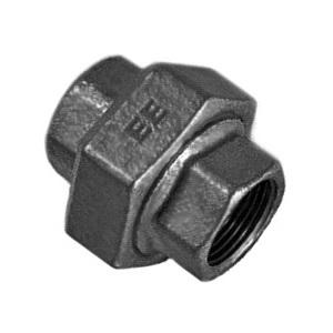 EE Разъемное соединение под плоское уплотнение внутренняя резьба, чугун черный, артикул 330