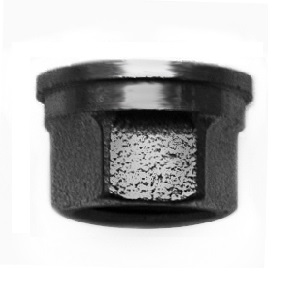 EE Муфта для насоса, плоское соединение, внутренняя резьба, чугун черный, артикул 372