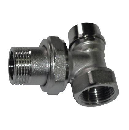 """Вентиль нижний, угловой, для стальных труб, ВР/НР, ICMA, арт.862  3/4"""""""